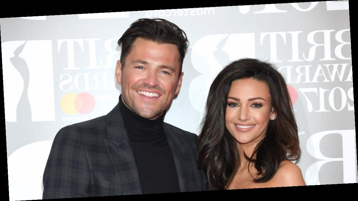 Michelle Keegan shows support for husband Mark Wright as he makes professional football debut