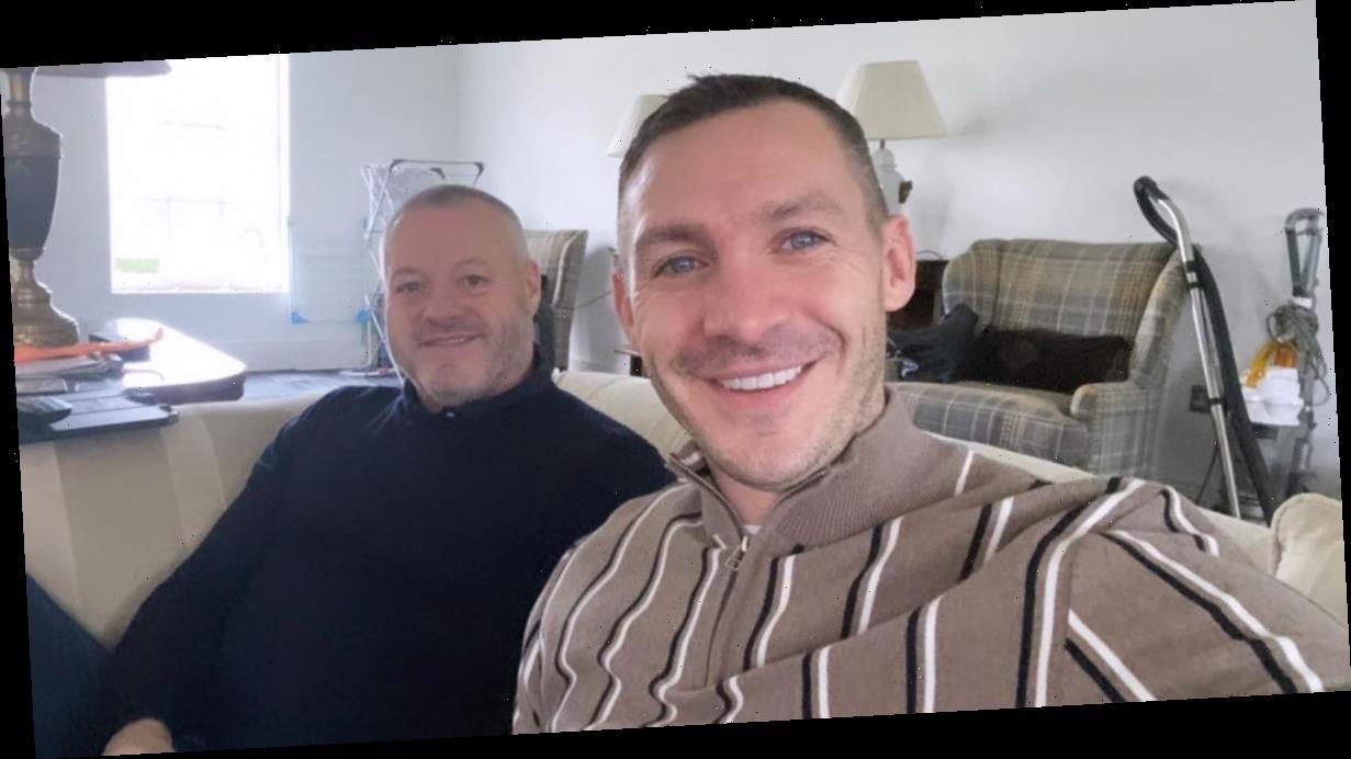TOWIE's Mick Norcross smiles alongside son Kirk in heartbreaking last photo before his tragic death