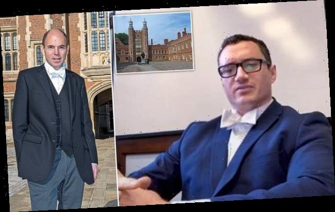 Dismissed Eton master claims school rigged an appeal panel against him