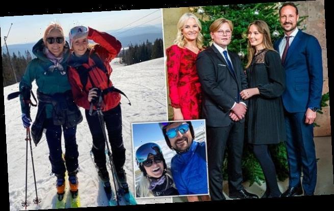 Crown Princess Mette Marit of Norway, 47, breaks tailbone skiing