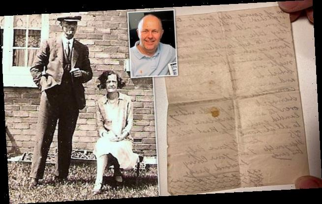 WW1 soldier's 104-year-old letters to his wife found in charity shop