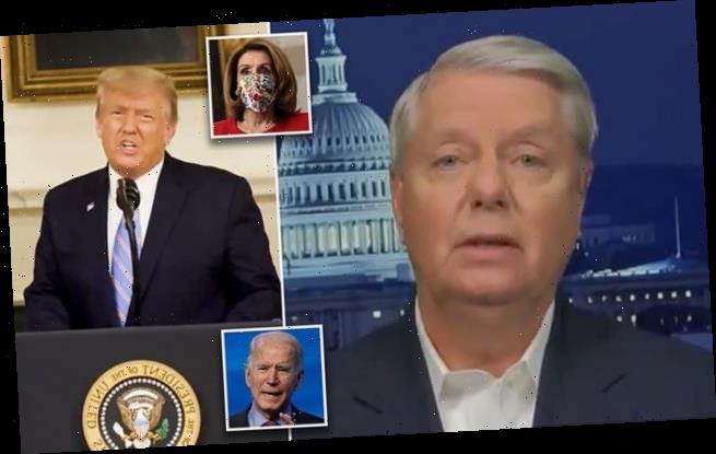 Lindsey Graham begs Biden to order Pelosi not to impeach Trump again