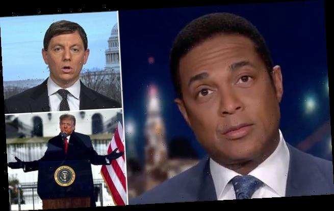 Don Lemon calls President Trump 'the biggest snowflake of them all'
