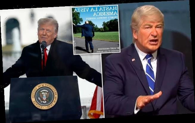 Trump's farewell speech according to his longtime spoofer Alec Baldwin