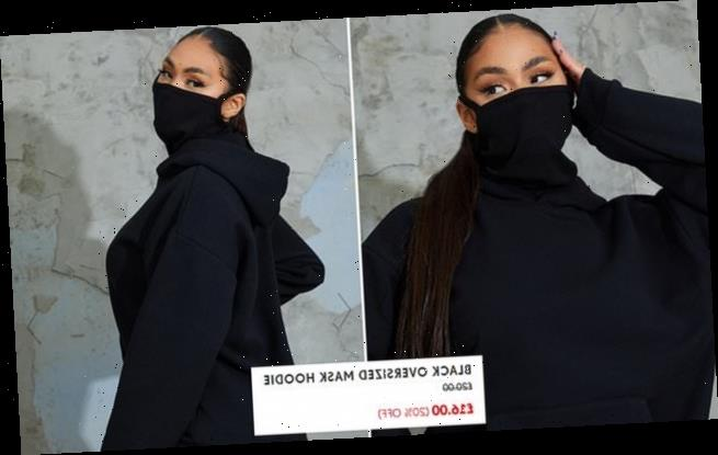PrettyLittleThing launches £16 hoodie with built-in face mask