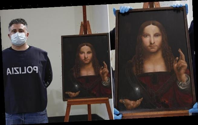 Da Vinci 'Salvator Mundi' painting stolen from basilica found in flat