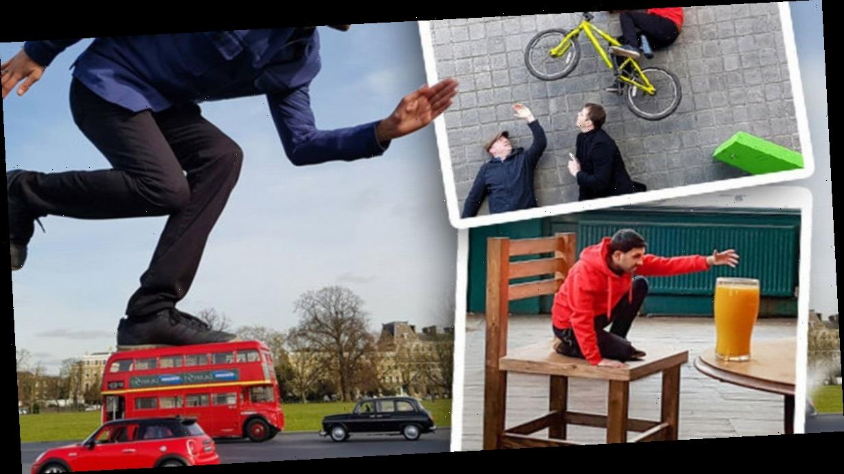 Dynamo secrets revealed –how to levitate, walk on water and fly like E.T.