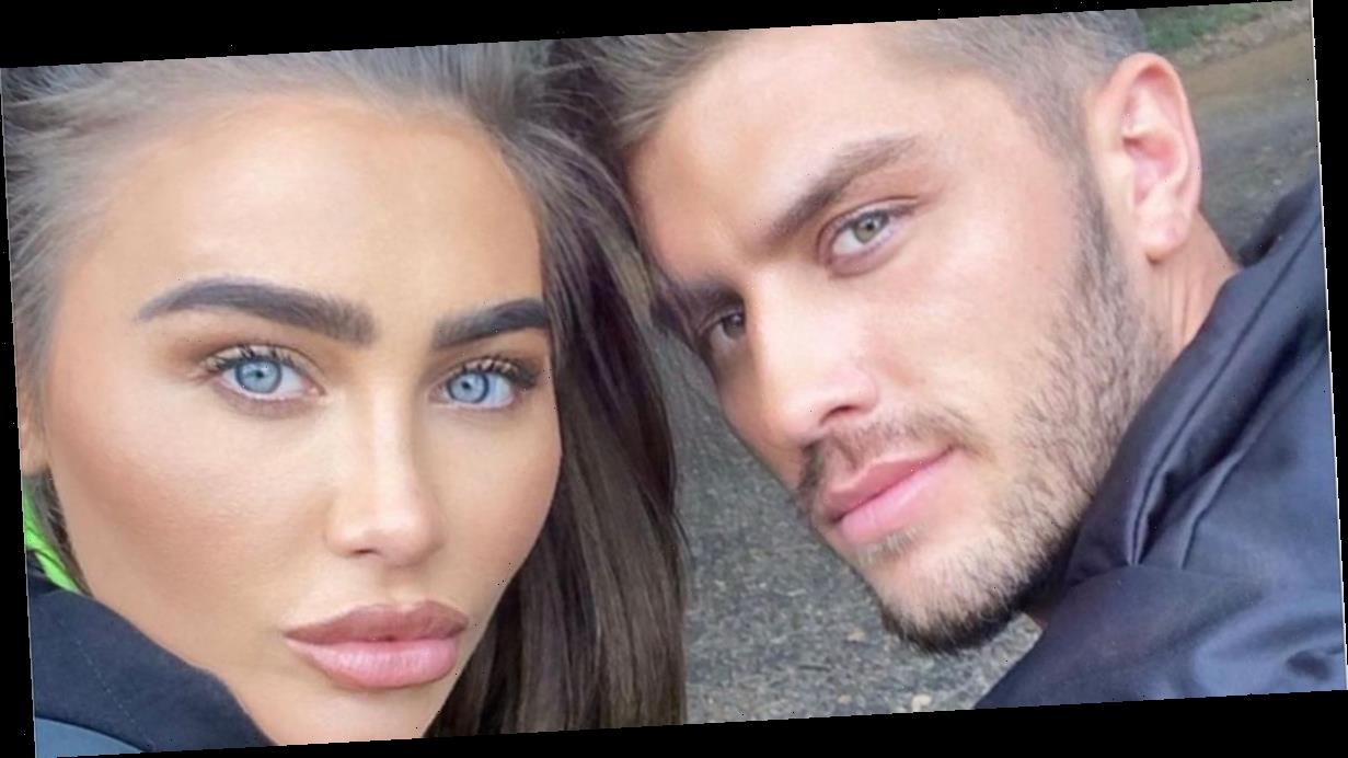 Lauren Goodger shares sweet snap of pregnancy test she surprised boyfriend Charles Drury with