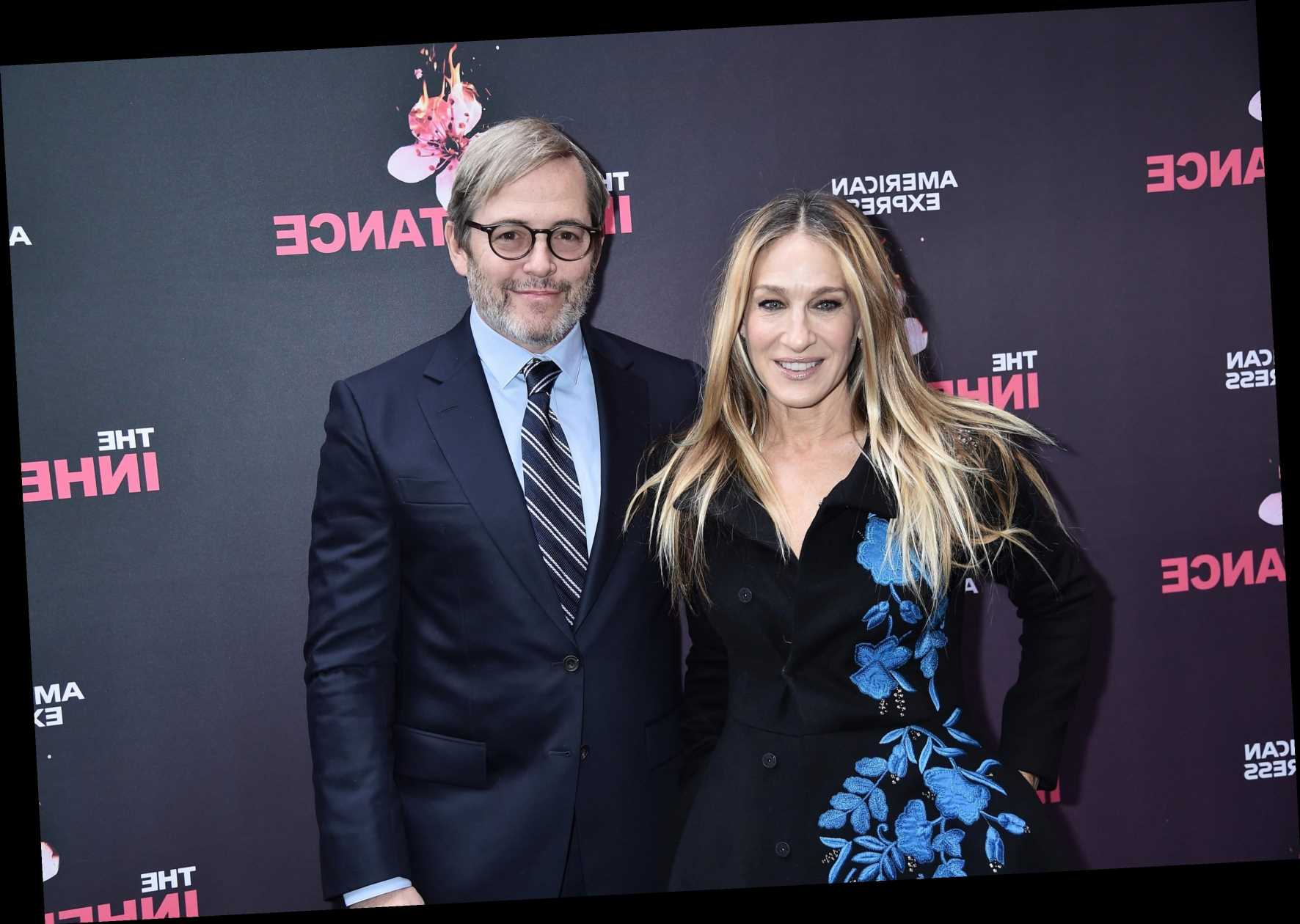 Who is Sarah Jessica Parker's husband Matthew Broderick?