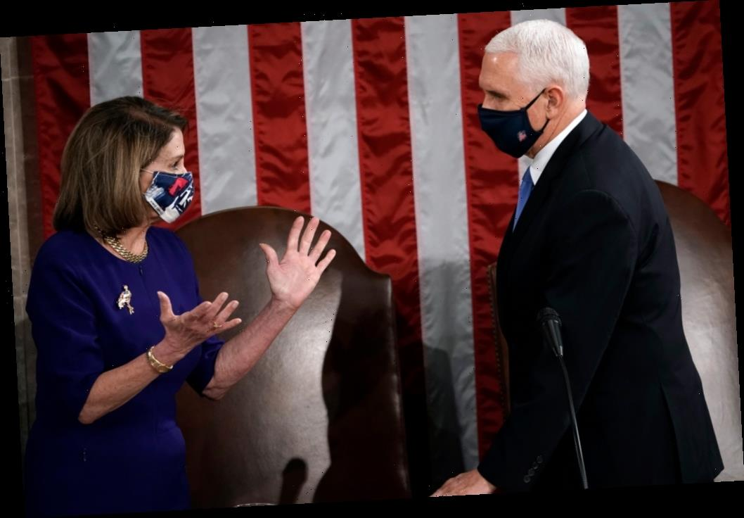 Joint Session Of Congress Gathers To Count Electoral Vote; Lawmakers To Debate Objections To Joe Biden's Victory