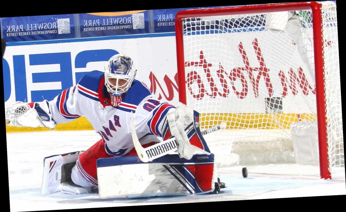 Rangers blow early lead in loss to Sabres