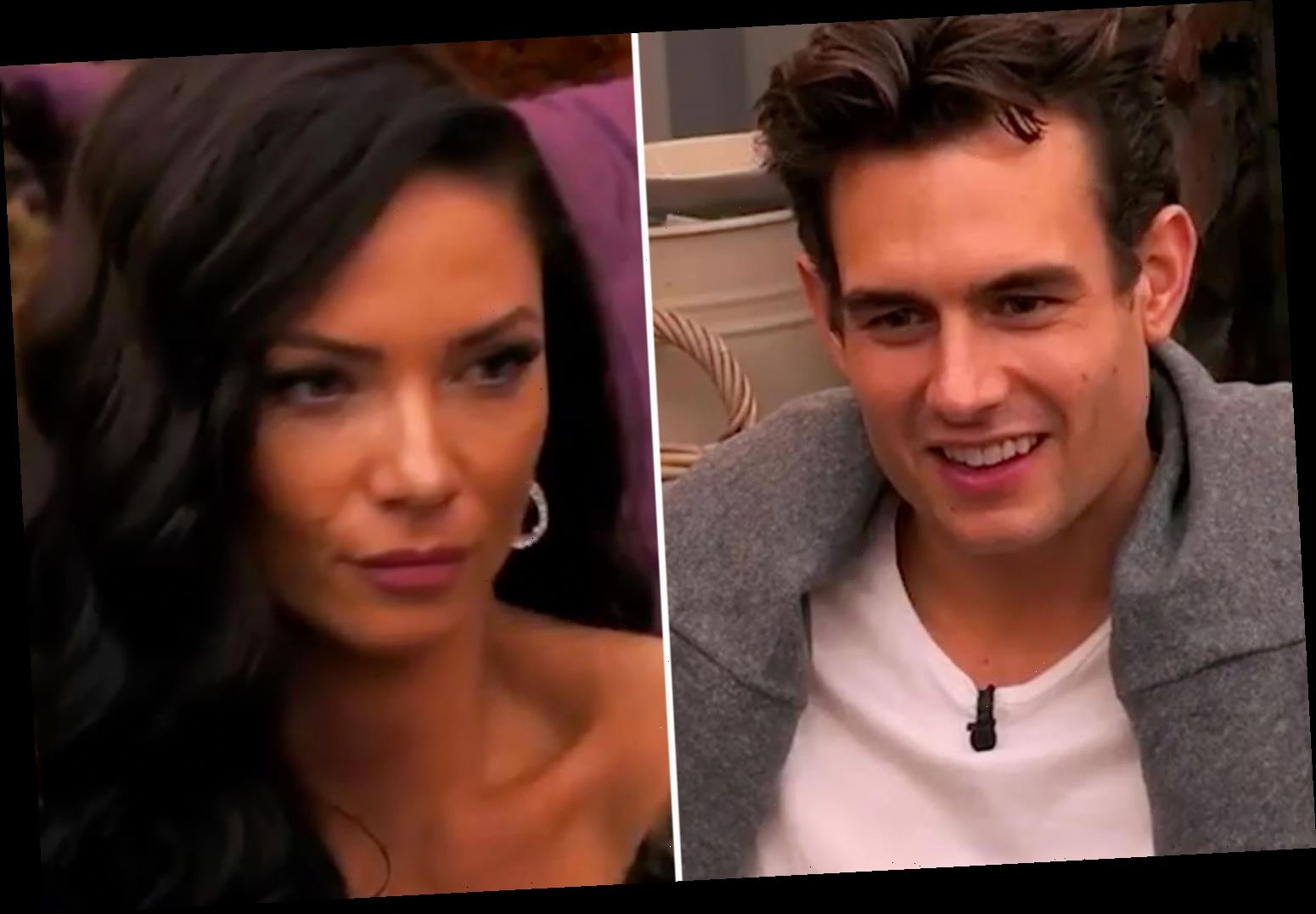 The Cabins spoiler: Awkward moment new boy Ryan says 'his sister's cat turns him on' – and April is horrified