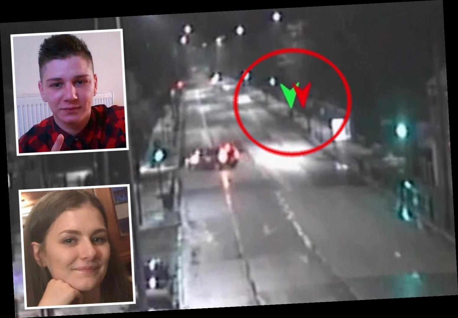CCTV shows Libby Squire's final moments as Pawel Relowicz 'stalks' uni student, 21, before 'raping and murdering her'