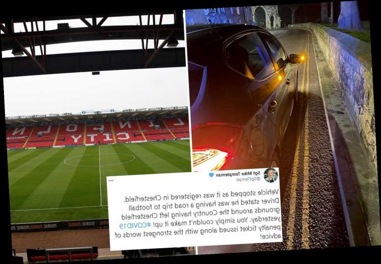 Covidiot gets fined by cops for trying to visit all 92 football league grounds during lockdown