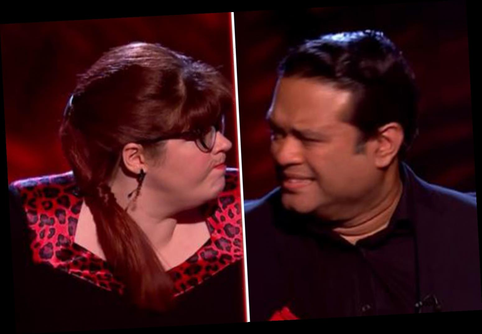Beat The Chasers fans stunned as Jenny Ryan PUNCHES fuming Paul Sinha for getting a question wrong