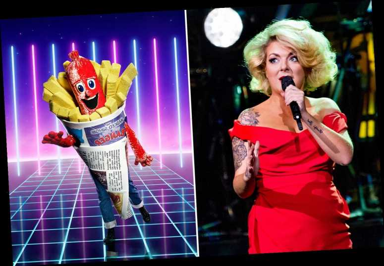 The Masked Singer's Sausage 'revealed' by clue on Sheridan Smith's Wikipedia page