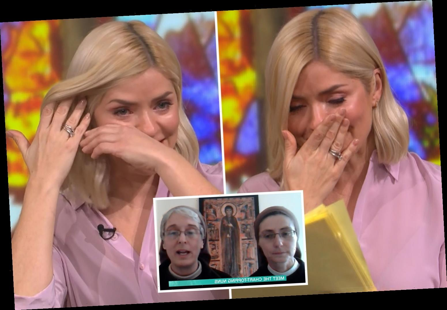 Holly Willoughby breaks down in tears on This Morning after moving interview with nuns who said 'it will all be ok'