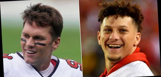 Chiefs' Patrick Mahomes Was in Kindergarten When Tom Brady Won 1st Super Bowl