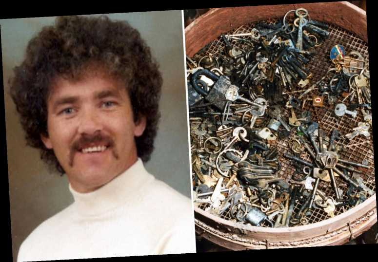 Pembrokeshire Murders serial killer John Cooper kept twisted collection of 500 keys as mementos at bottom of cesspit