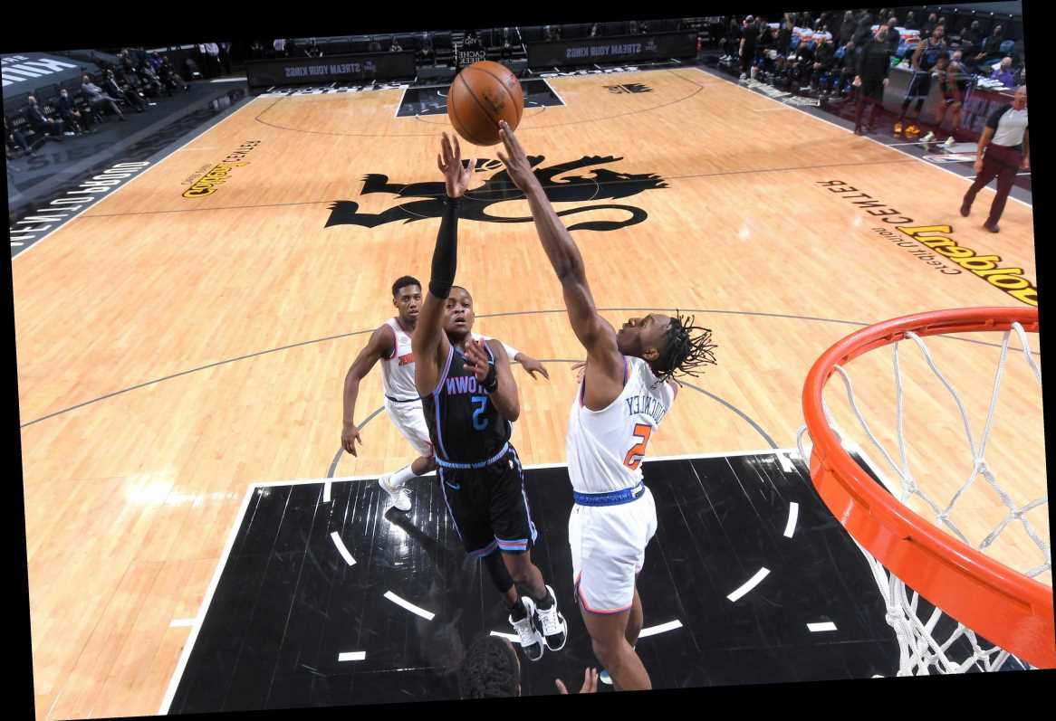 Knicks whipped by Kings, fall under .500