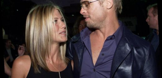 Jennifer Aniston Said 'Good-Bye' to 'Friends' the Same Month Brad Pitt Met Angelina Jolie