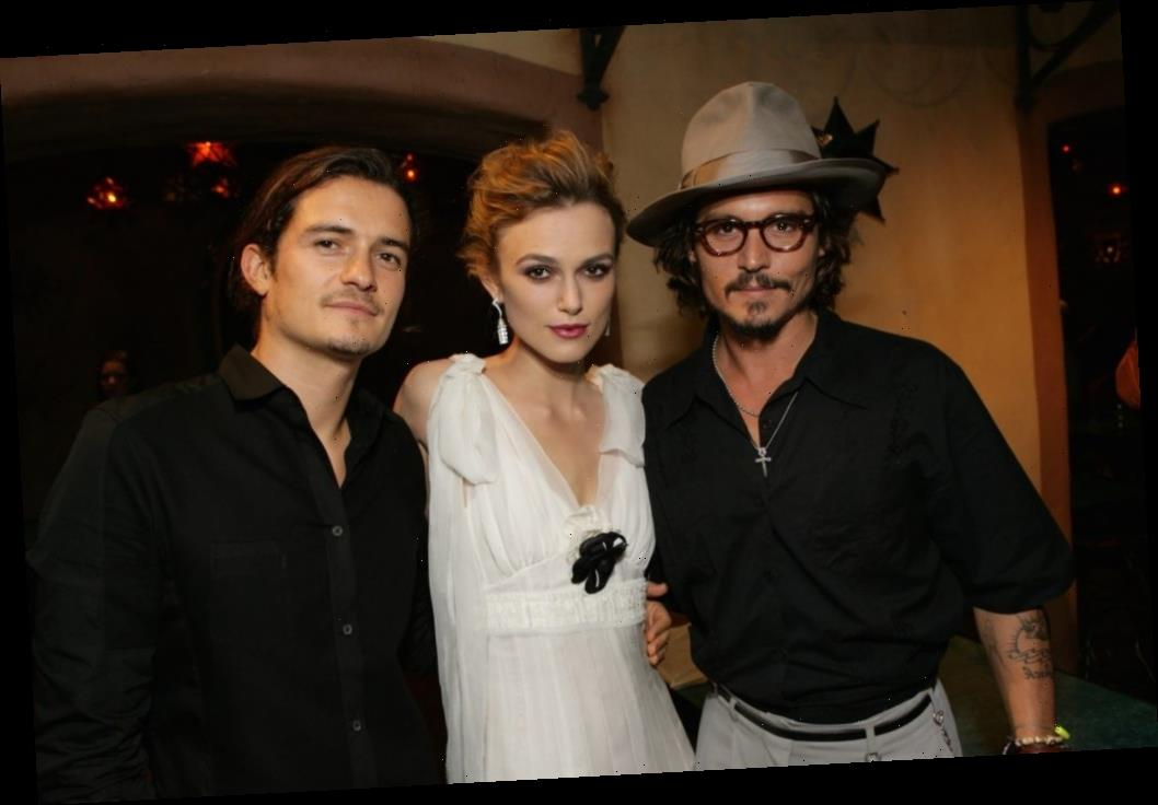 Johnny Depp Said Keira Knightley Was Too Young for Him to Kiss — But Amber Heard Was Younger