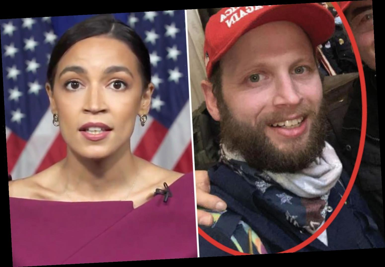 Capitol 'rioter' Garret Miller charged over threat to kill Alexandria Ocasio-Cortez with 'assassinate AOC' tweet