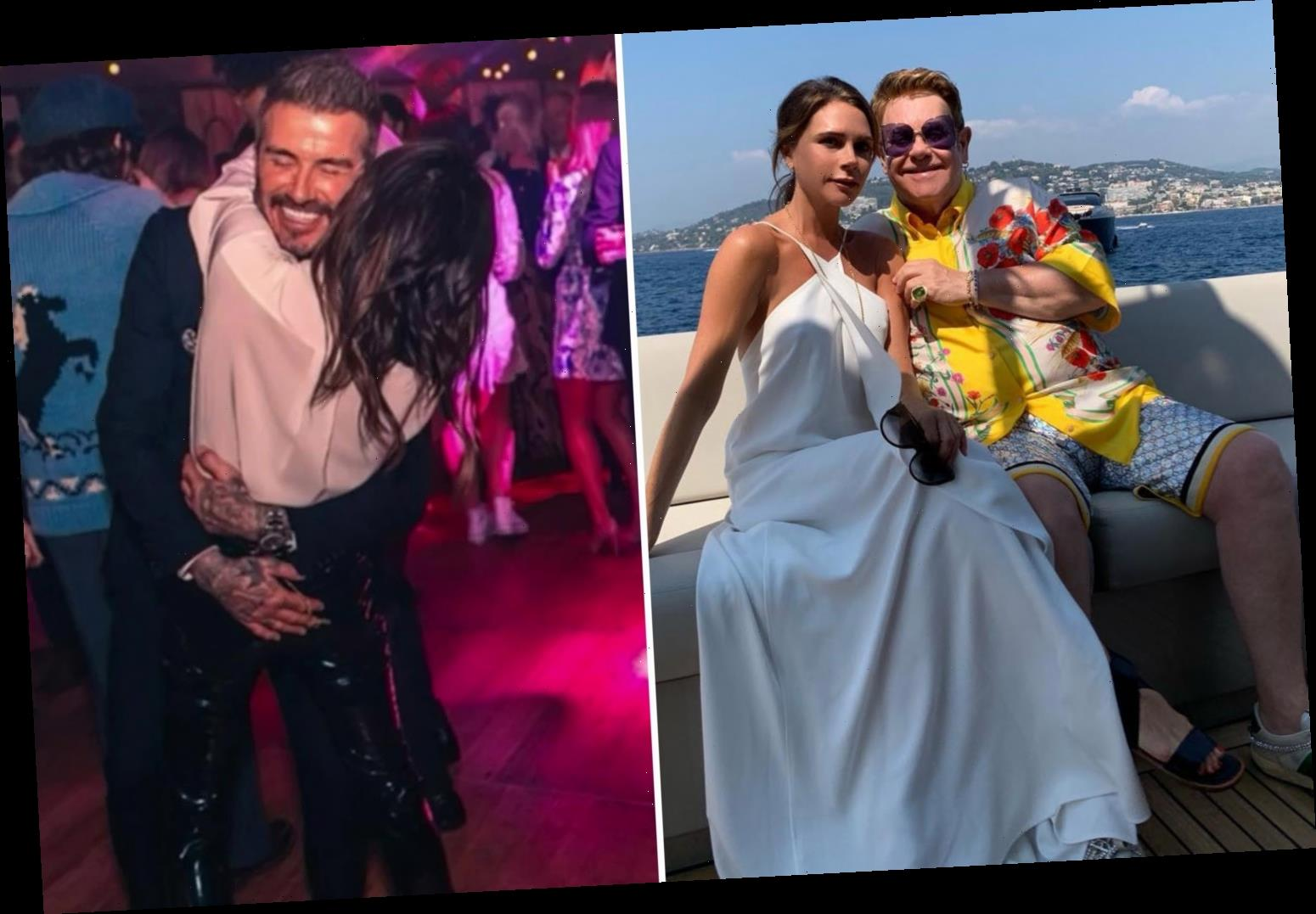 Victoria Beckham says Elton John inspired her to quit Spice Girls and the secret to long marriage is 'surprising' David