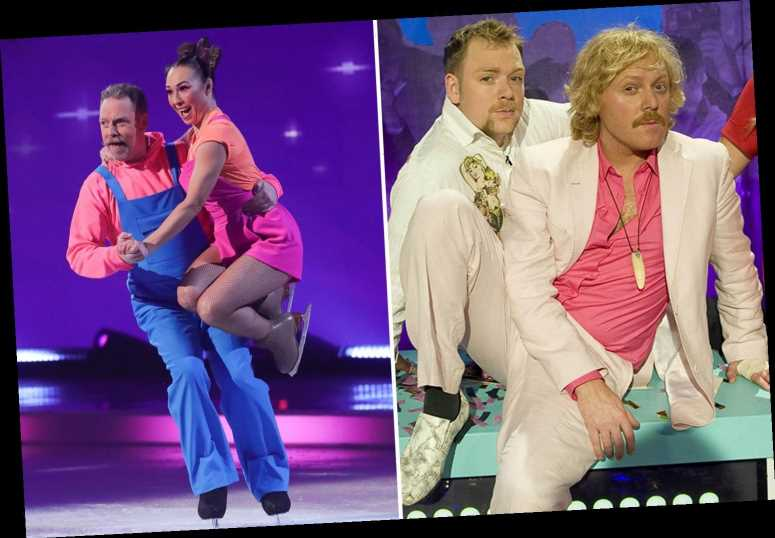 Dancing On Ice's Rufus Hound 'locked in a secret eight year feud with Holly Willoughby's best pal Keith Lemon'