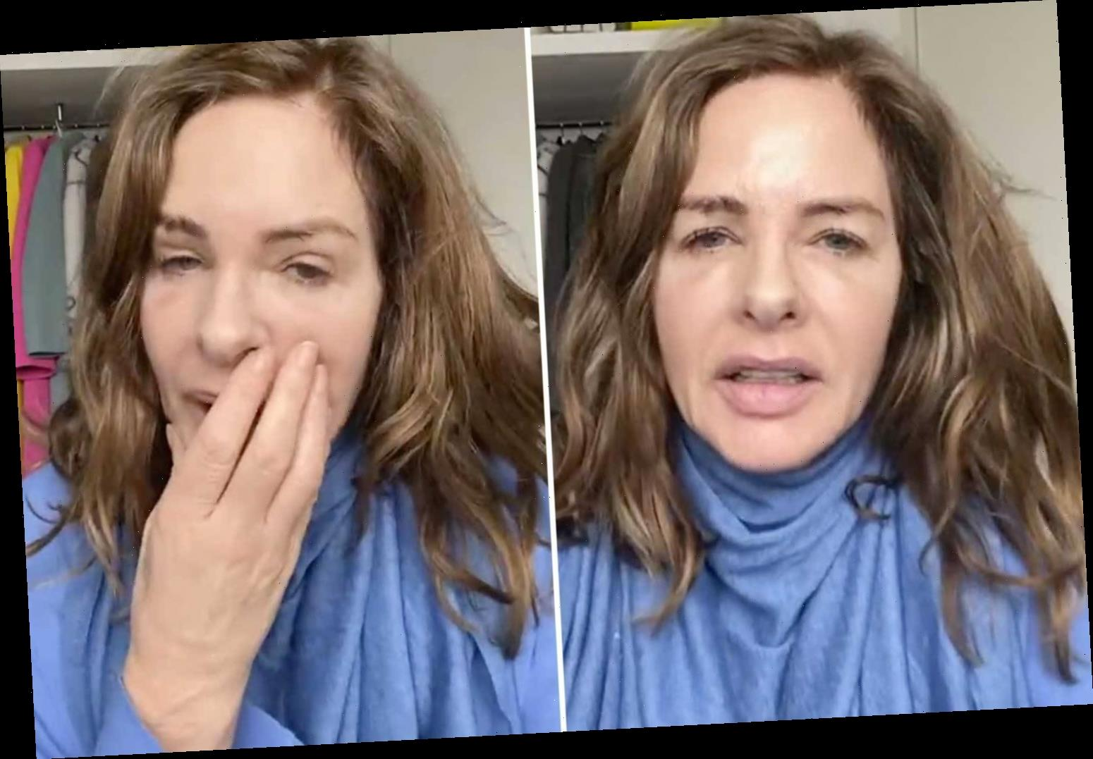 This Morning's Trinny, 56, admits she's got Covid and feels 'horrible' after looking after sick relatives at Christmas
