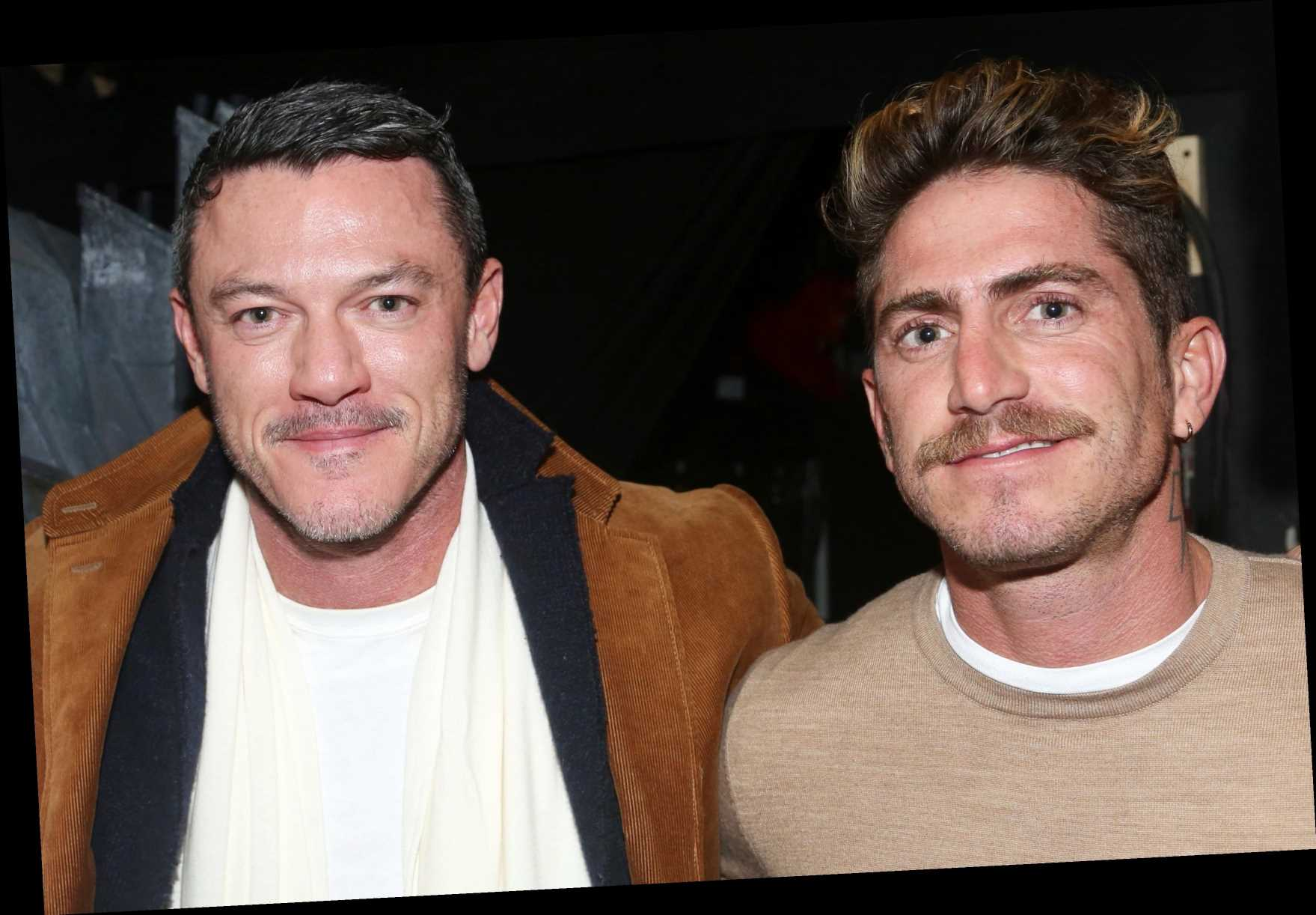 Who is Luke Evans' ex-boyfriend Rafa Olarra?