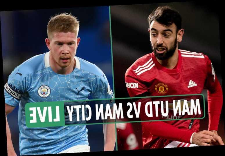Man Utd vs Man City LIVE: Stream, TV channel, team news and kick-off time for tonight's big EFL Cup semi-final clash