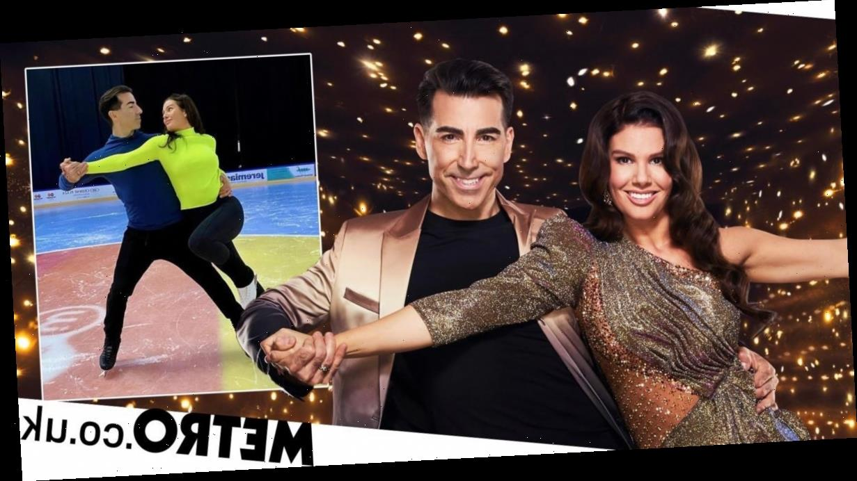 Dancing on Ice 2021: Rebekah Vardy 'laughed' when partner sliced face open
