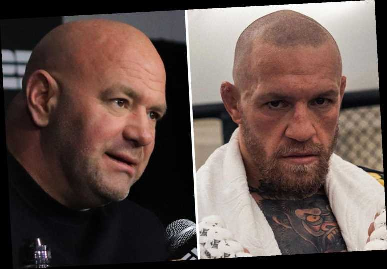 Dana White claims the 'real' Conor McGregor is back because Irishman is bombarding him with questions about UFC 257