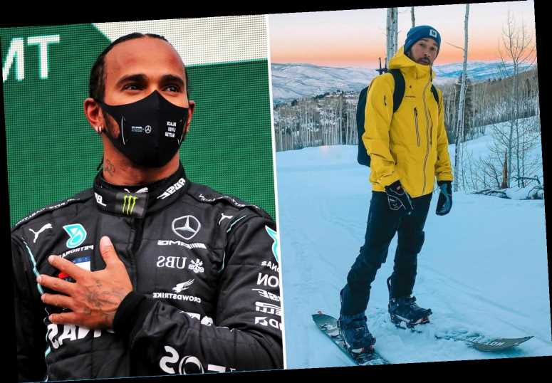 Lewis Hamilton hiking to the top of a mountain every morning to 'set his goals' as Mercedes contract saga rumbles on