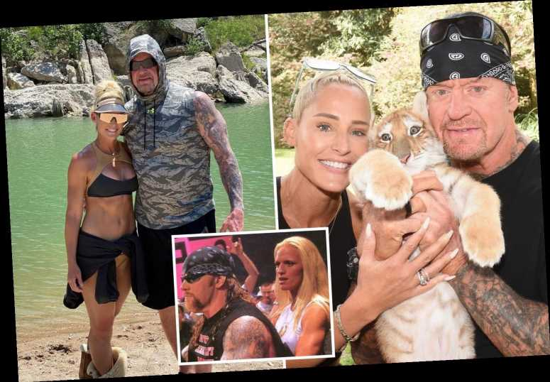 A look at Michelle McCool, the lady behind WWE legend The Undertaker, and the retired wrestling star's two ex-wives