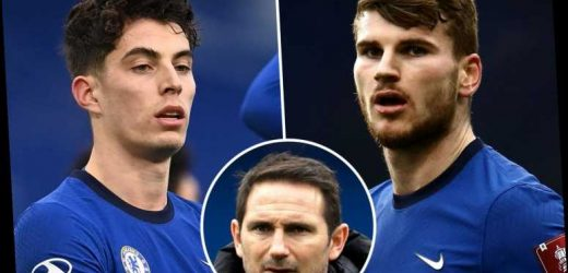 Chelsea boss Frank Lampard insists Werner and Havertz 'will come good' but hints at promoting Gilmour and Hudson-Odoi