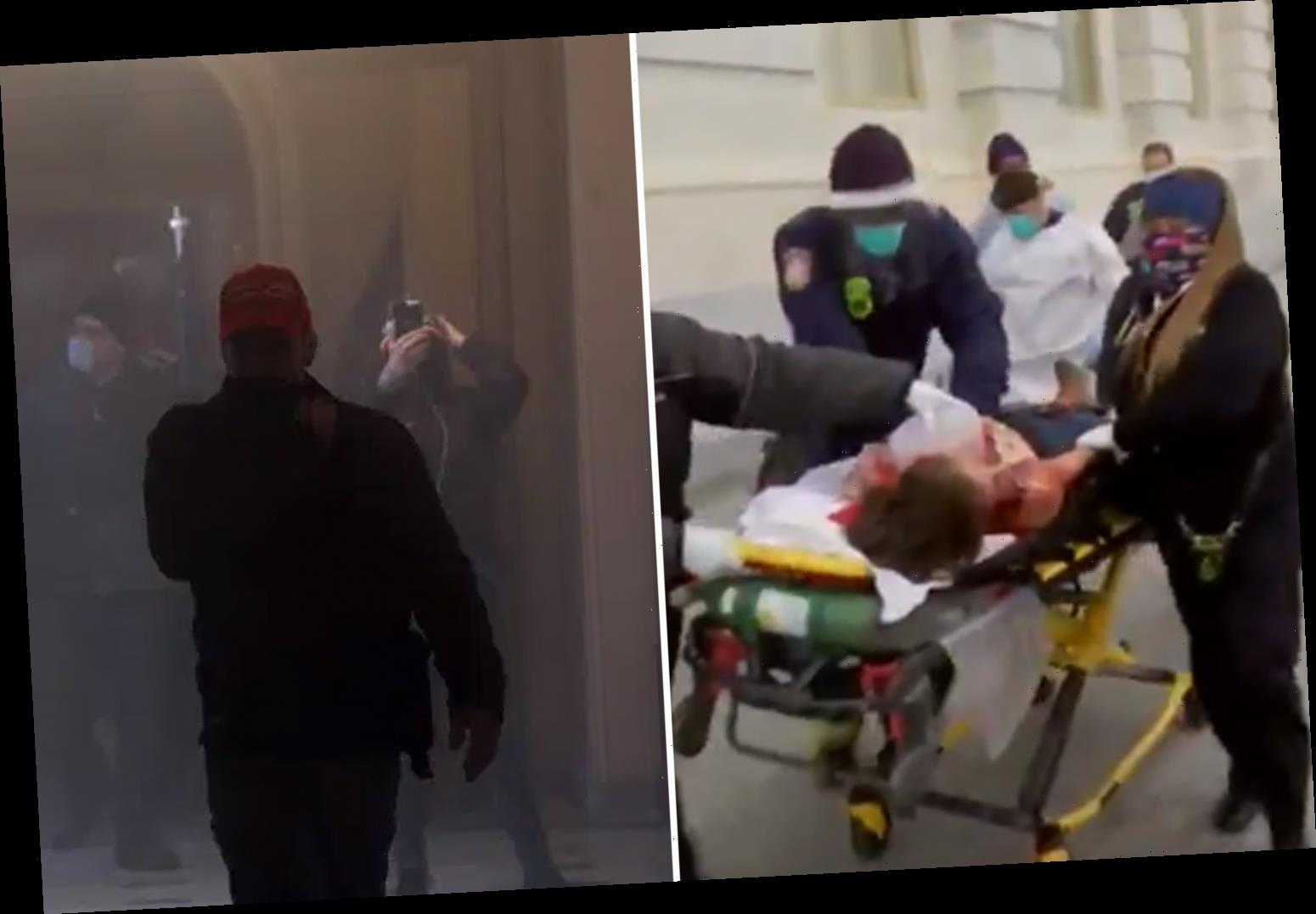 Shooting in the Capitol – Woman 'shot in chest & in critical condition' after Congress stormed