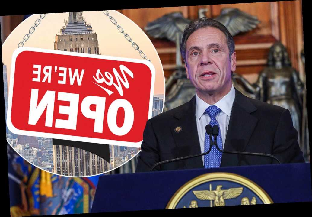 Gov. Cuomo predicts economic reopening of NYC in 'weeks'