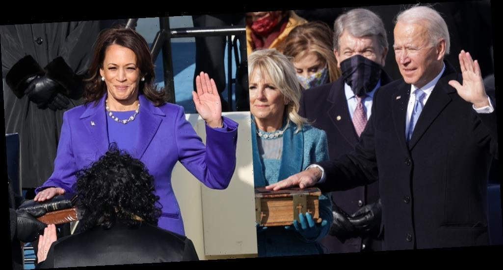 President Joe Biden & Vice President Kamala Harris Sworn In on Inauguration Day 2021 (Videos)