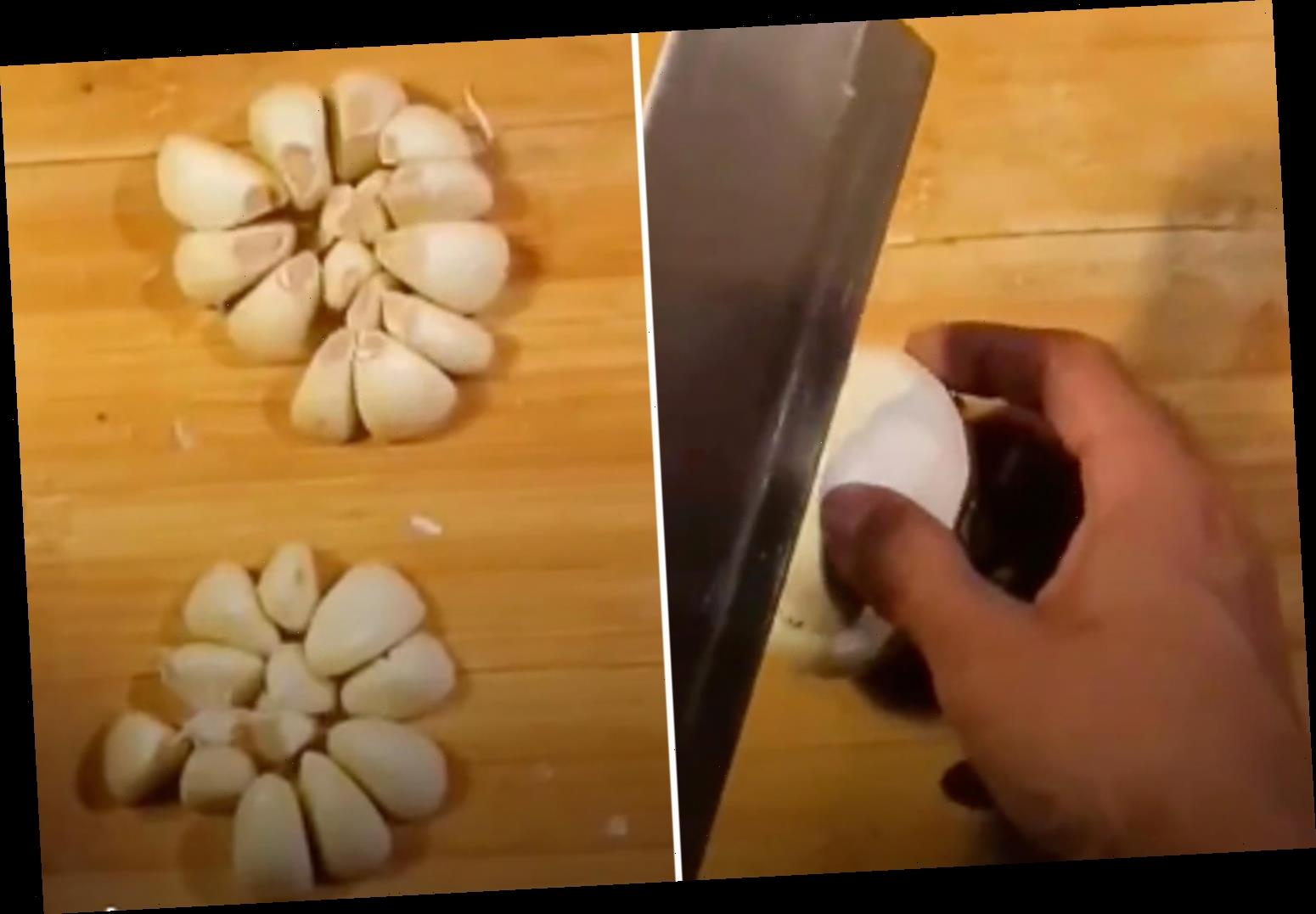 You've been peeling garlic wrong – TikToker shows how to properly get cloves out of bulb