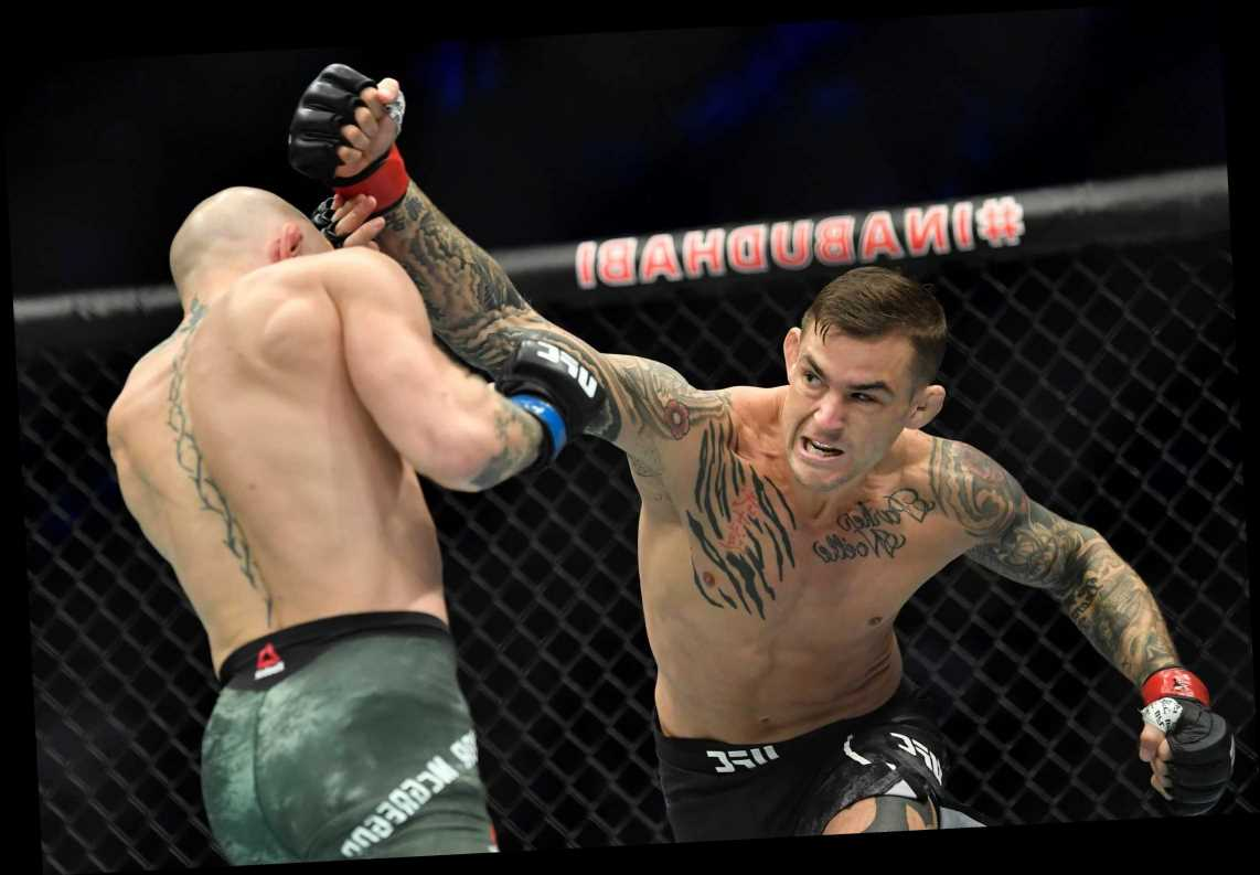 Conor McGregor vs Dustin Poirier punch stats reveal how Irishman struggled to get aggressive fight style going before KO