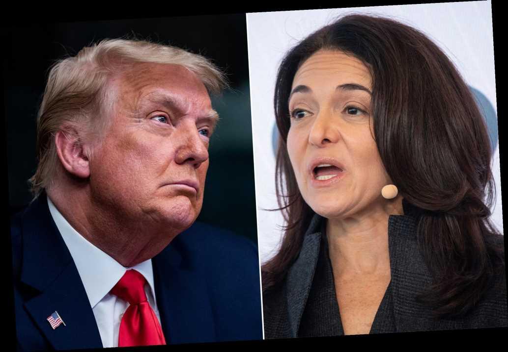 Sheryl Sandberg says Facebook has 'no plans' to lift Trump ban