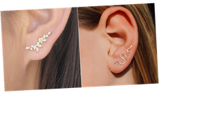 15 Ear Climbers and Crawlers That Will Take Your Jewelry Game to the Next Level