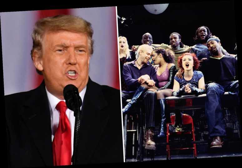 Why is Trump 'seasons of love' trending?