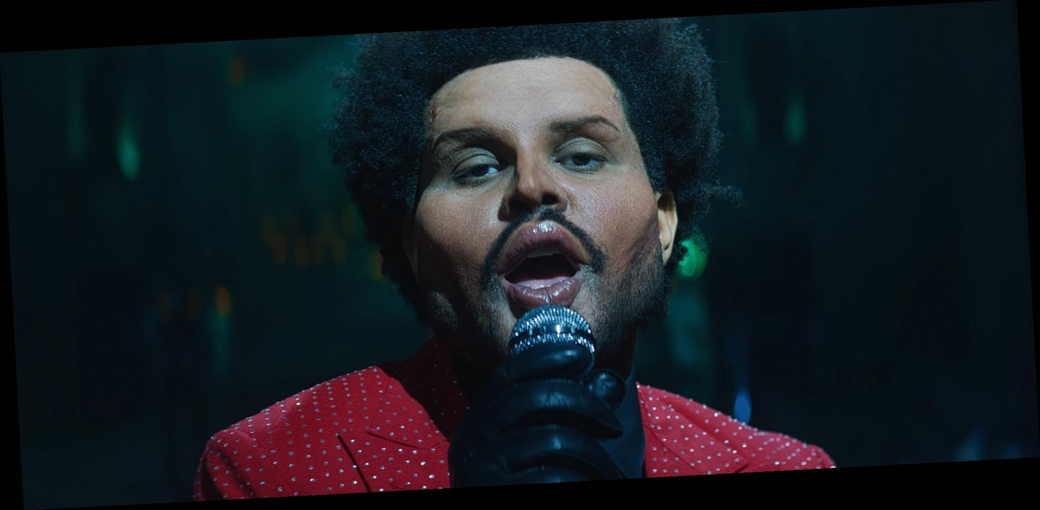 The Weeknd Shows Off Dramatic Plastic Surgery-Enhanced Face for 'Save Your Tears' Music Video