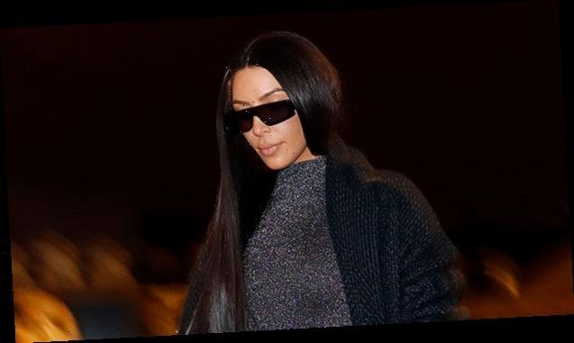Kim Kardashian Stuns In White SKIMS Bodysuit Amid Her 'Imminent Divorce' From Kanye West