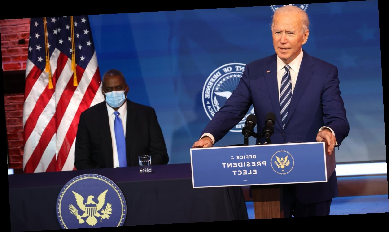 Why Biden Always Ends His Speeches With This Phrase