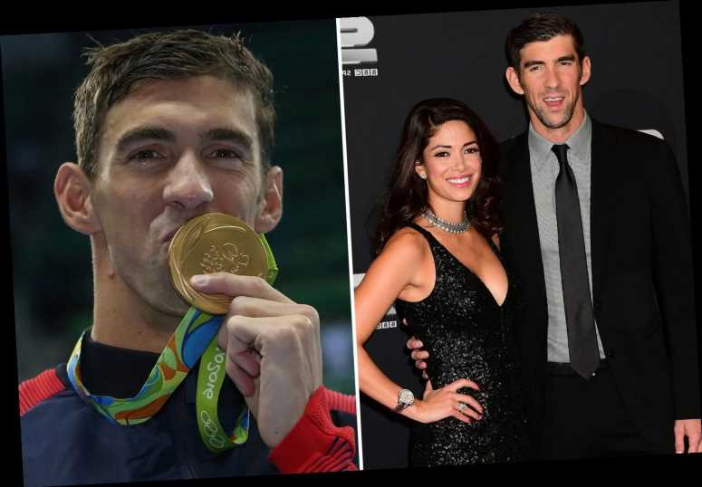 Olympic swimming legend Michael Phelps' wife Nicole reveals she fears losing her husband to depression