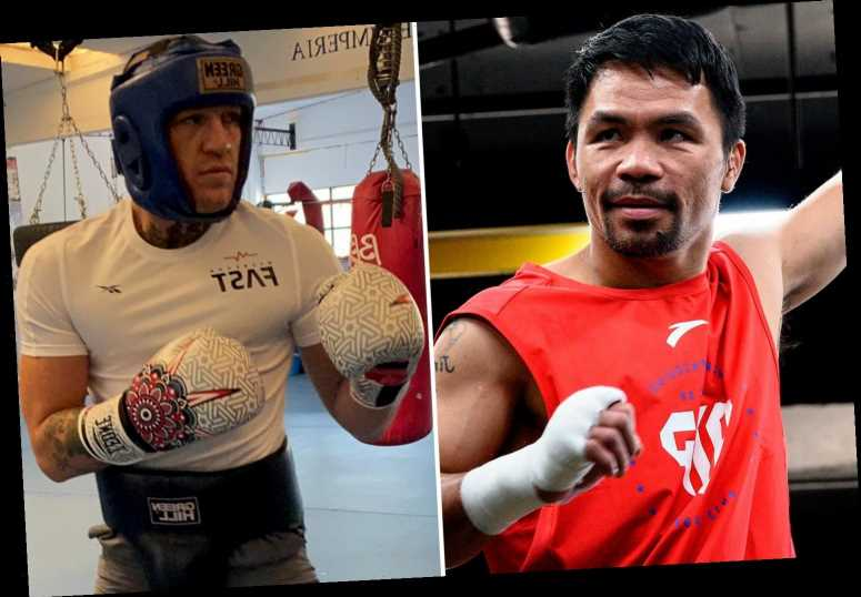 Manny Pacquiao confirms plans to take on Conor McGregor next aged 42 as he 'wants experience of facing an MMA fighter'